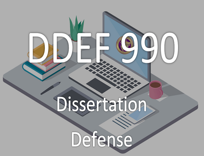 Dissertation course description